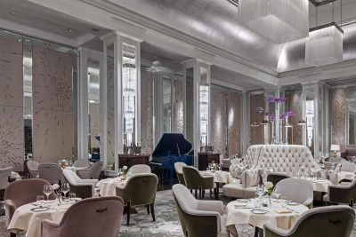 Michel Roux dining experience Langham Hotel